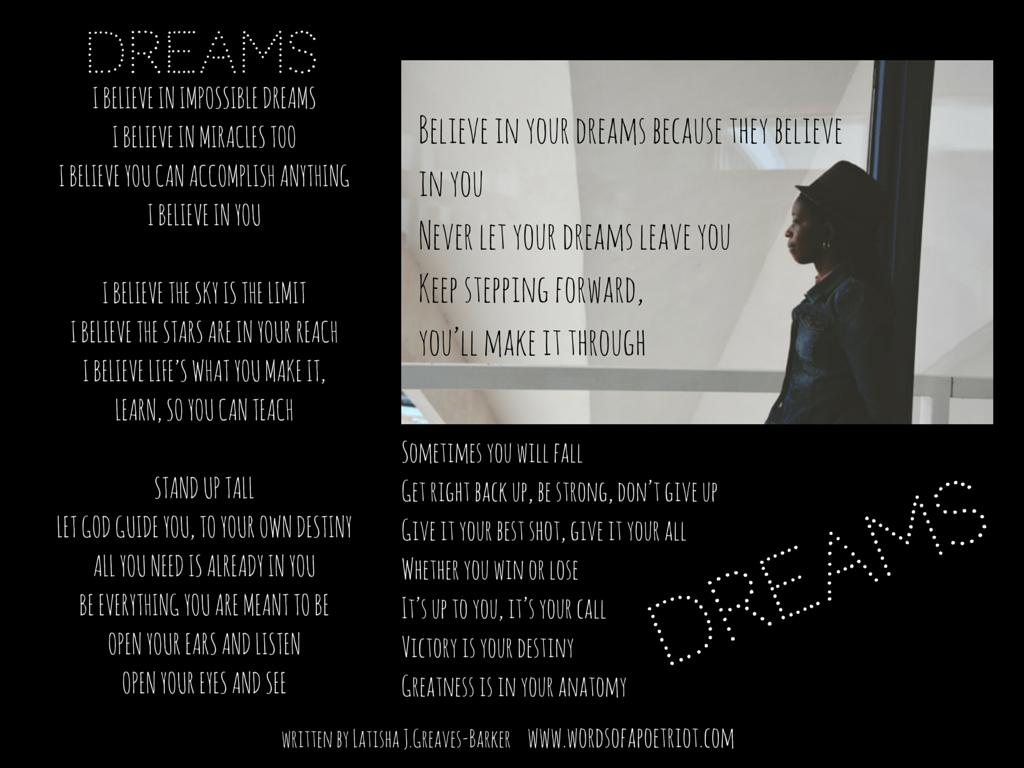 Dreams Poem1
