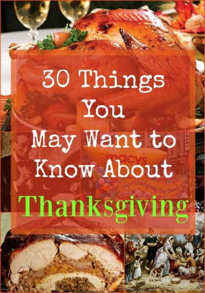 Thanksgiving (30 Things)