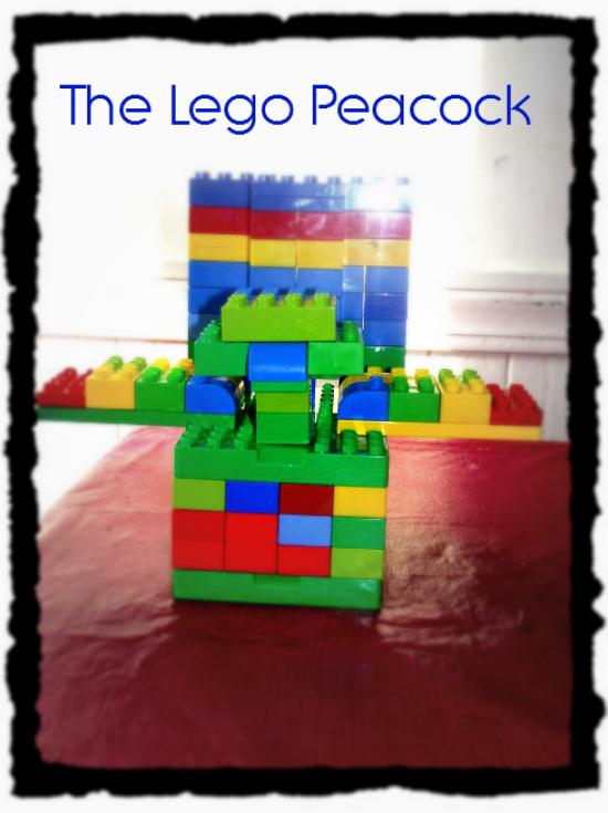 The Lego Peacock 1